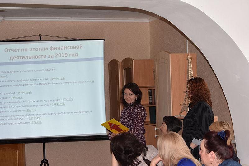 Отчет о проделанной работе  МБУ «Комплексный центр социального обслуживания населения Тасеевского района» за 2019 год