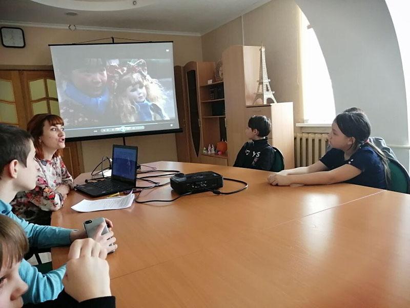 Киноискусство при работе с детьми